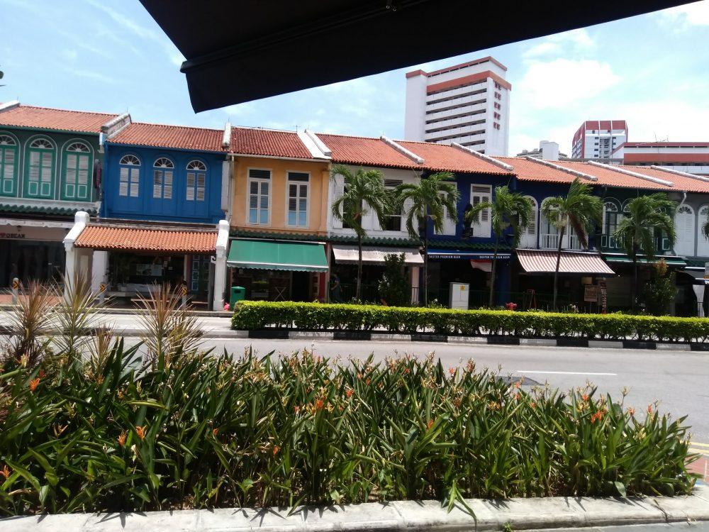 シティーギャラリー周辺にあるオシャレなシンガポールの街並み