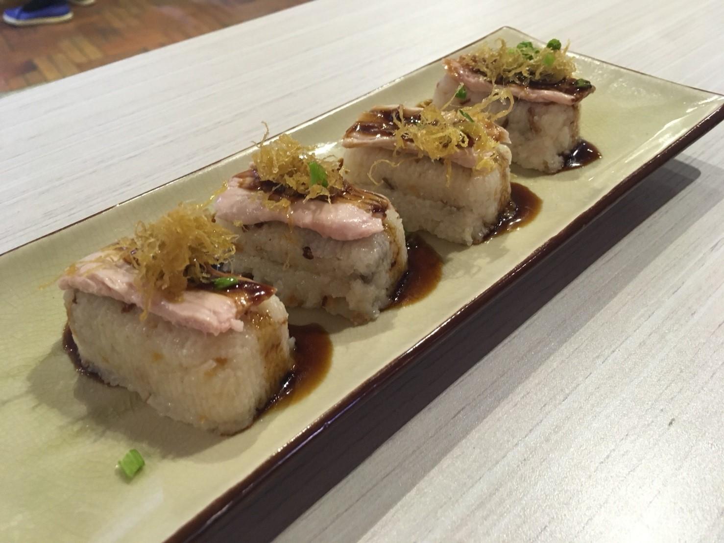鶏肉のお寿司