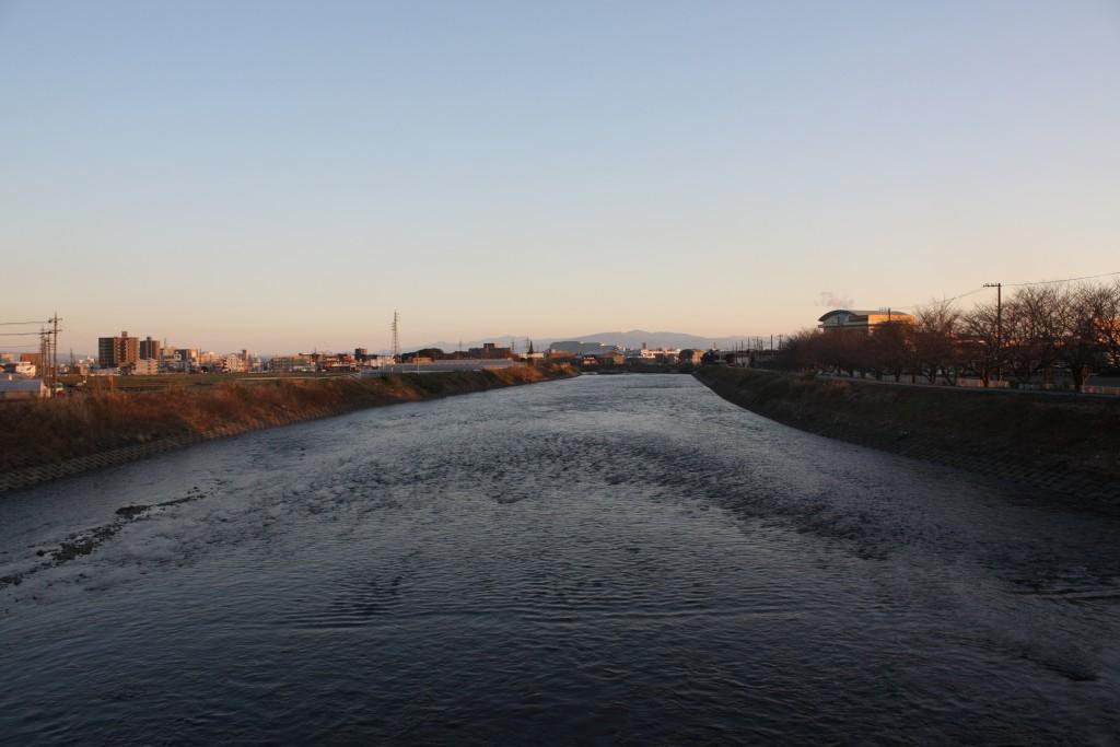 富士市潤井川