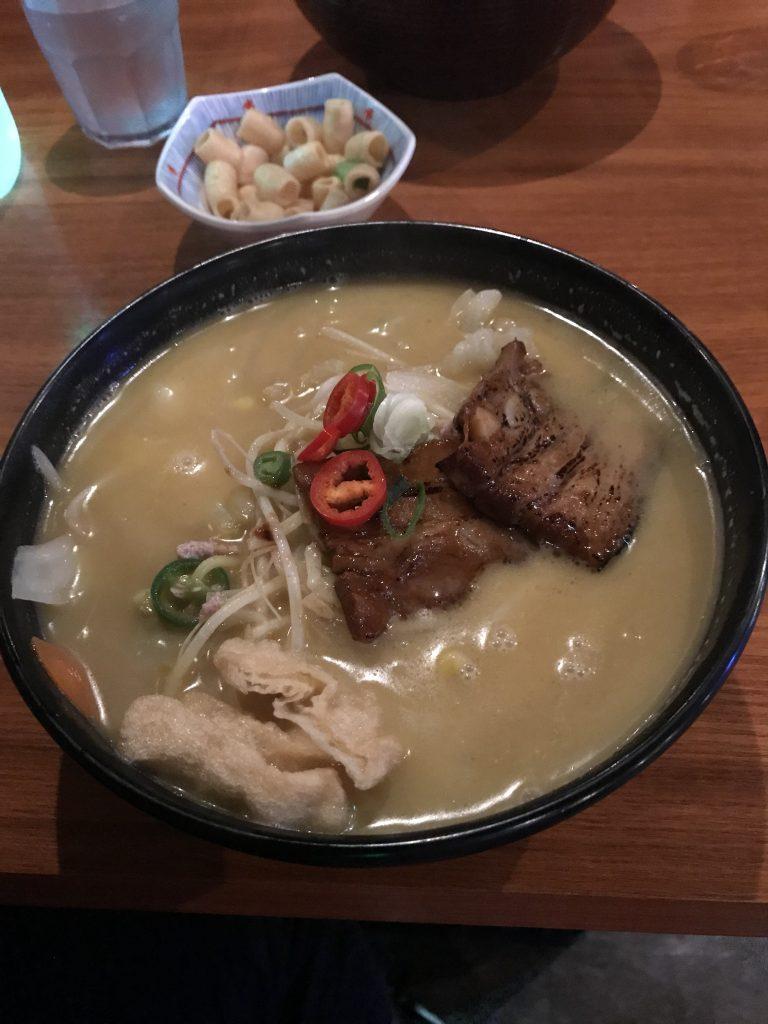 韓国の豚骨ラーメン