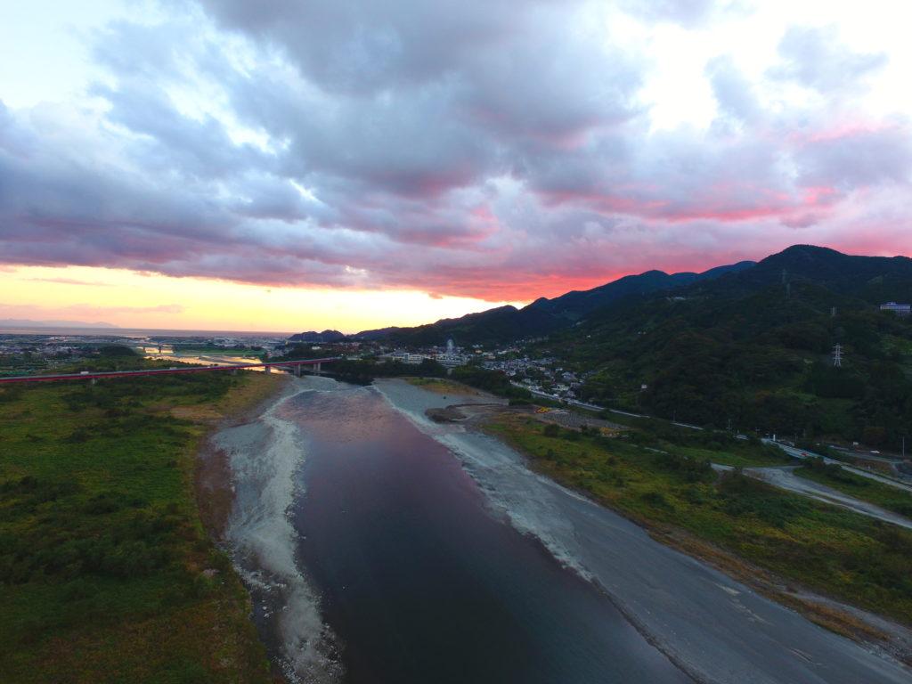 富士川 ドローン